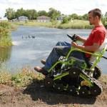 Der Outdoor-Rollstuhl